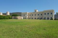 Edificio in disuso all'Asinara
