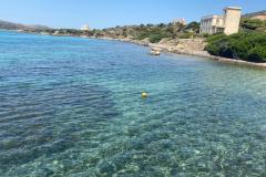 Il porticciolo di Cala Reale all'Asinara