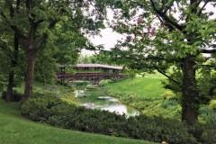 Il parco della tenuta Ca' del Bosco
