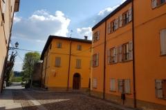 Le vie del centro storico di Castelvetro di Modena