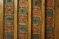 Il soffitto della Sala di Sigismondo e Isotta