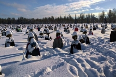 Silent People Finlandia in inverno