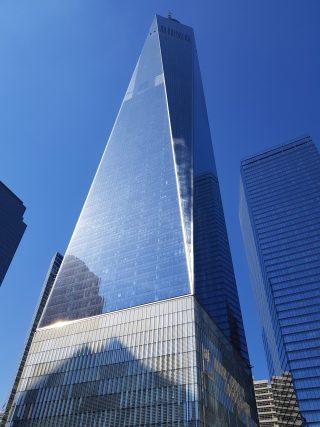 Primo Piano del One World Trade Center, 5 giorni a New York.