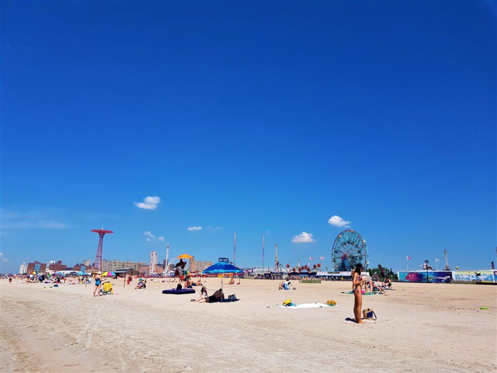 La spiaggia di Coney Island da vedere a New York