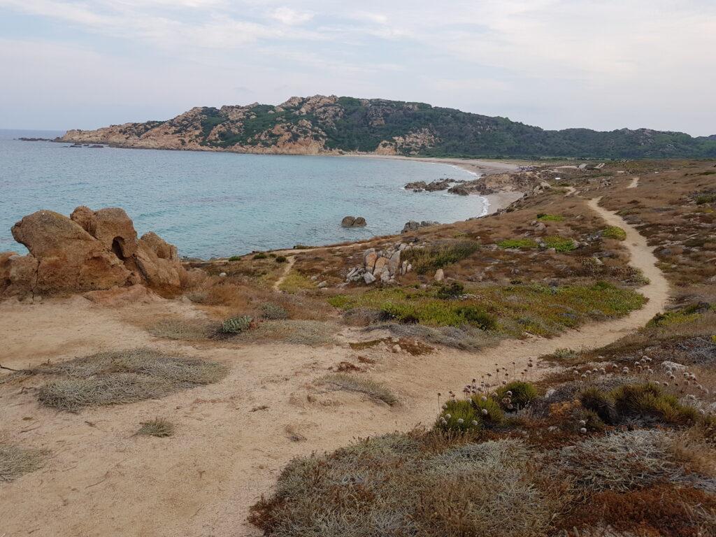 Spiaggia di Monte ROsso a Santa Teresa di Gallura