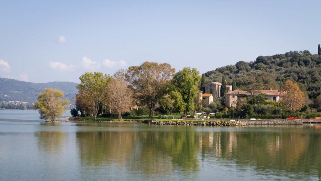 Lago Trasimeno l'Isola Maggiore