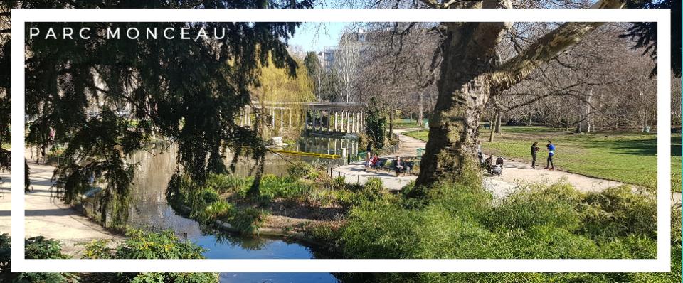 Parc Monceau , un bellissimo parco di Parigi