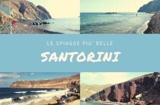 Santorini spiagge: le più belle da scoprire