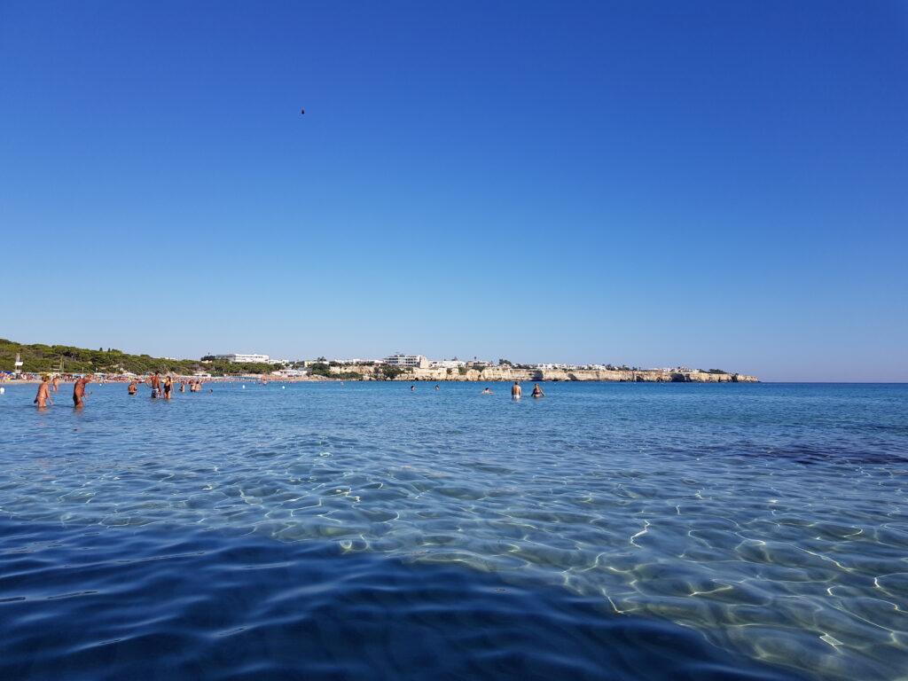Torre dell'Orso Spiagge del Salento adriatico, spiaggia di sabbia.