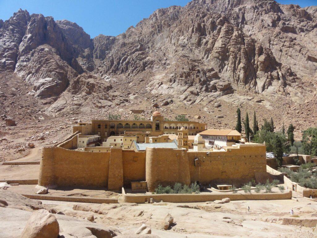 Vista del Monastero di Santa Caterina- Sinai