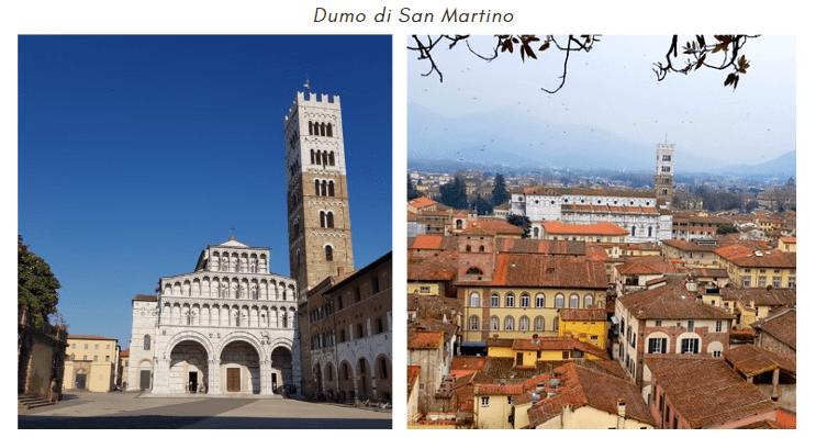 Duomo di San Martino Facciata e vista dall'alto