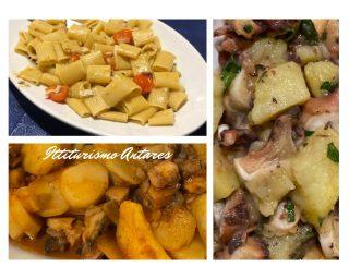 Piatti del ristorante di pesce di Stintino: Ittiturismo Antares