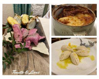 Piatti del ristornate di Porto Torres: tenuta Li Lioni