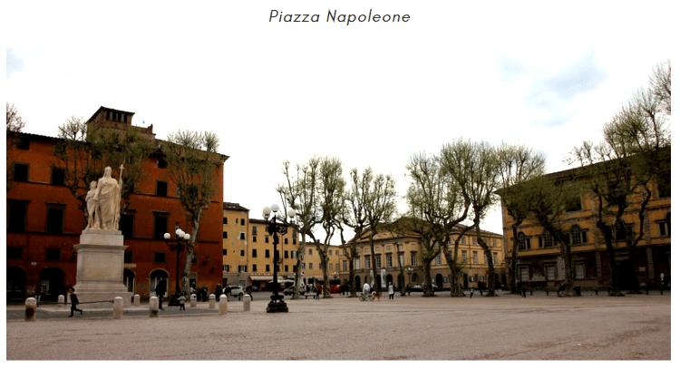 Piazza Napoleone Lucca