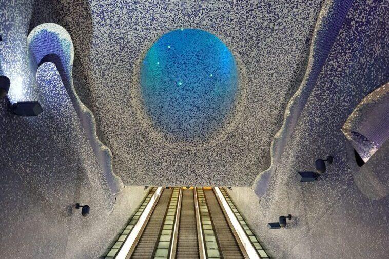 L'incontro tra l'arte e la metropolitana di Napoli