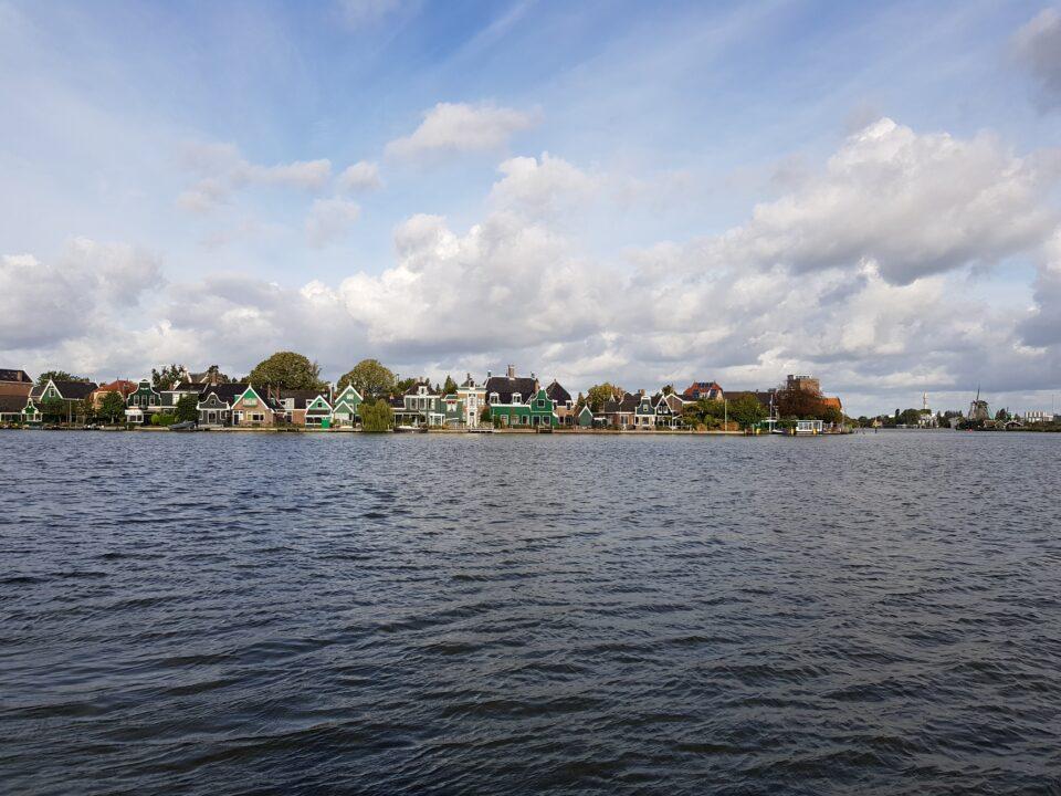 Veduta di dal fiume Zaanse - Zaanse Schans