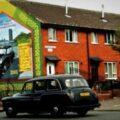 Murales di Belfast Taxi