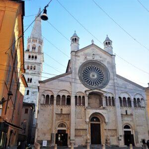 Modena - Corso Duomo, facciata principale della Cattedrale