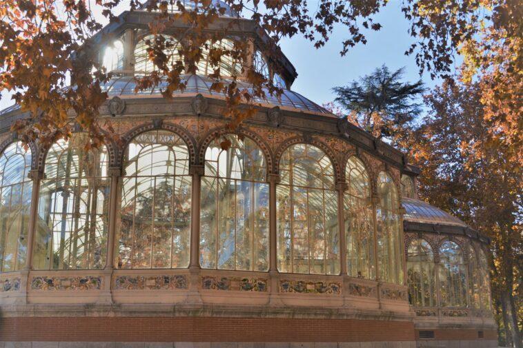 Palazzo di vetro a Madrid