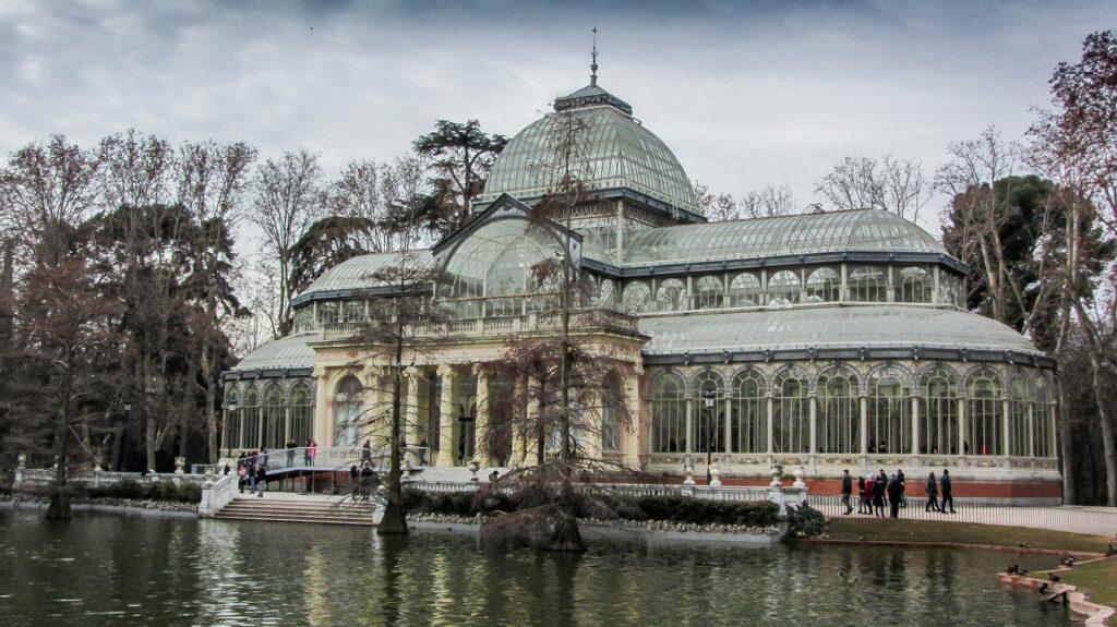 Palacio de Cristal dall'esterno