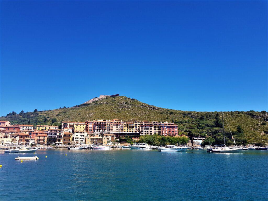 Porto Ercole sul Monte Argentario in Toscana