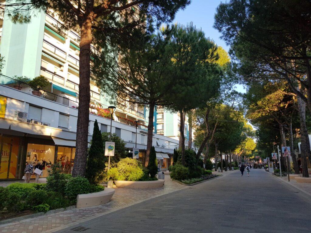 Il centro di Milano Marittima