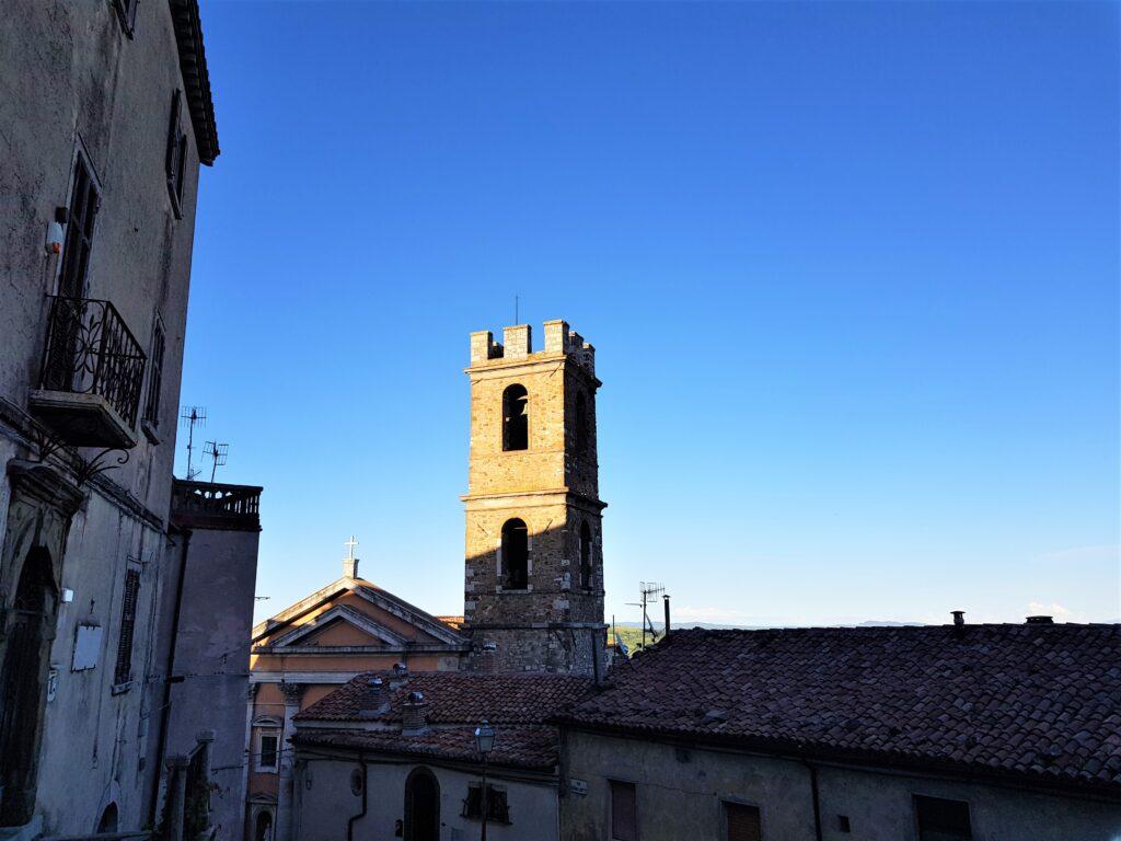 Campanile della Chiesa di San Leonardo a Manciano