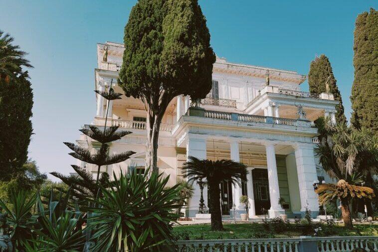 Achilleion Palace il palazzo di Sissi sull'isola di Corfù