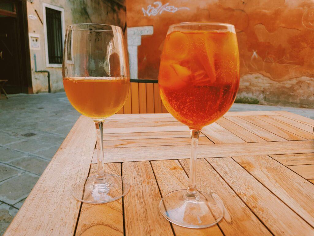 Prosecco e Spritz, l'aperitivo veneziano
