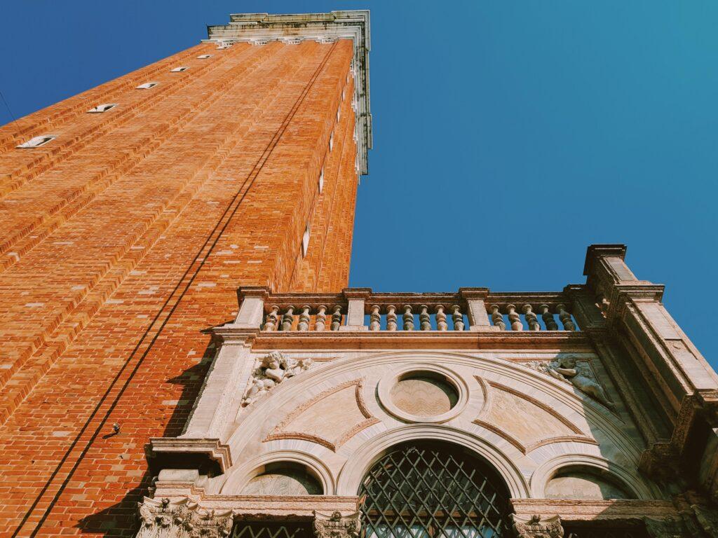 La Loggetta e il Campanile di San Marco a Venezia