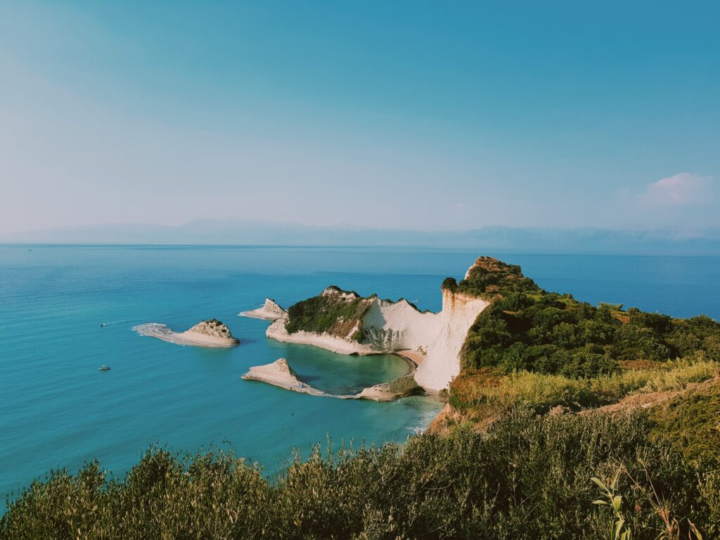 La vista di Cape Dtastis