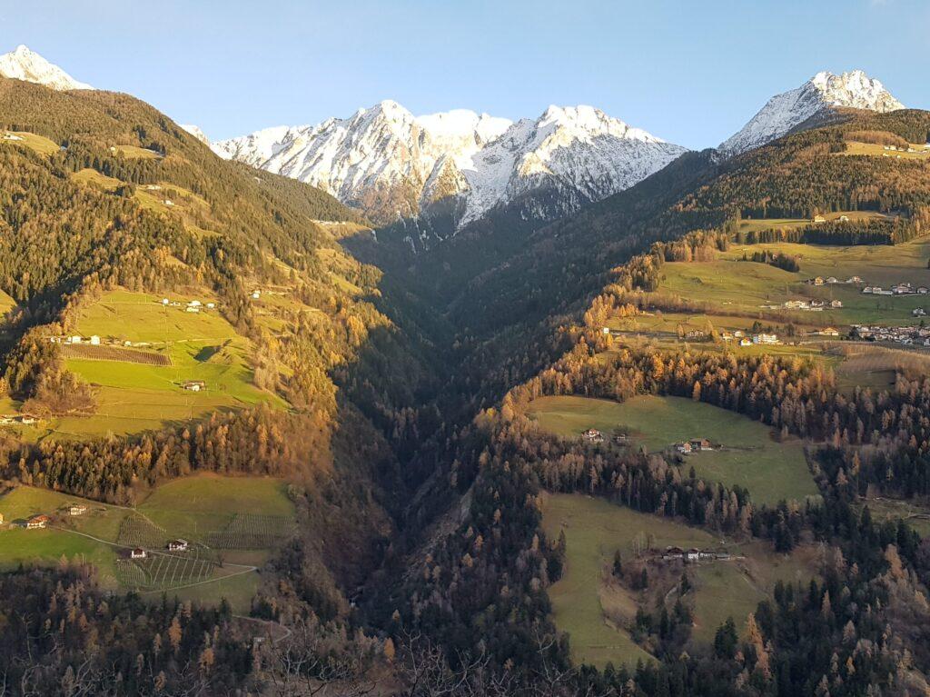 Veduta dall'Hotel Stuberhof - Rifiano