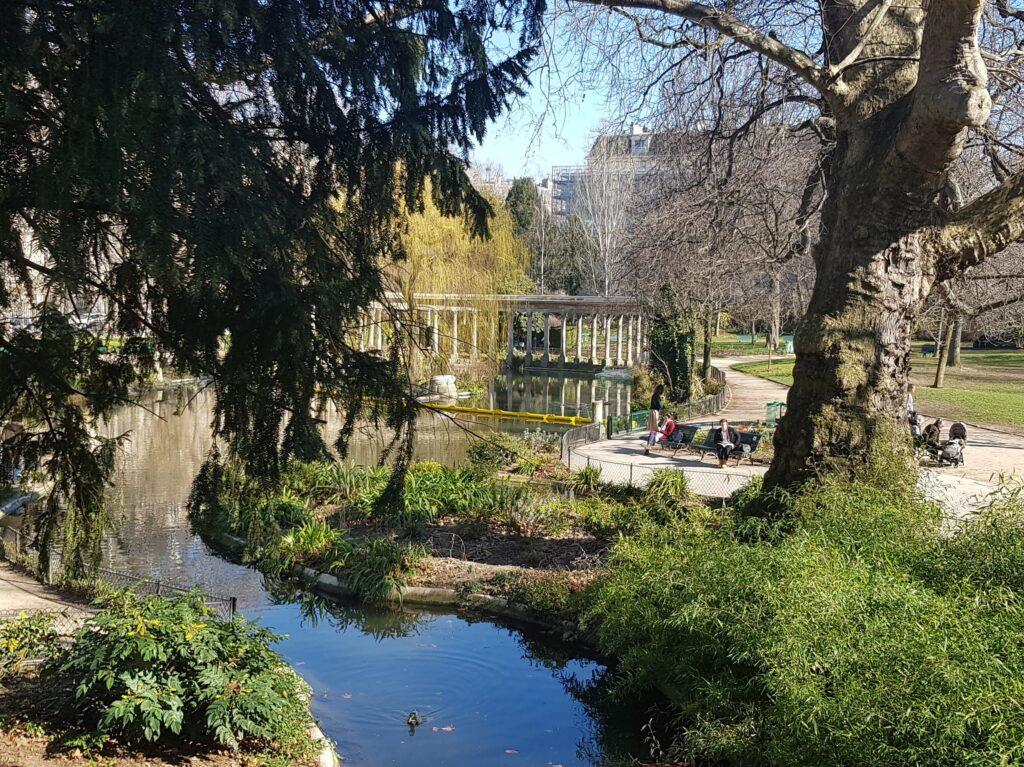 Parc Monceau a Parigi