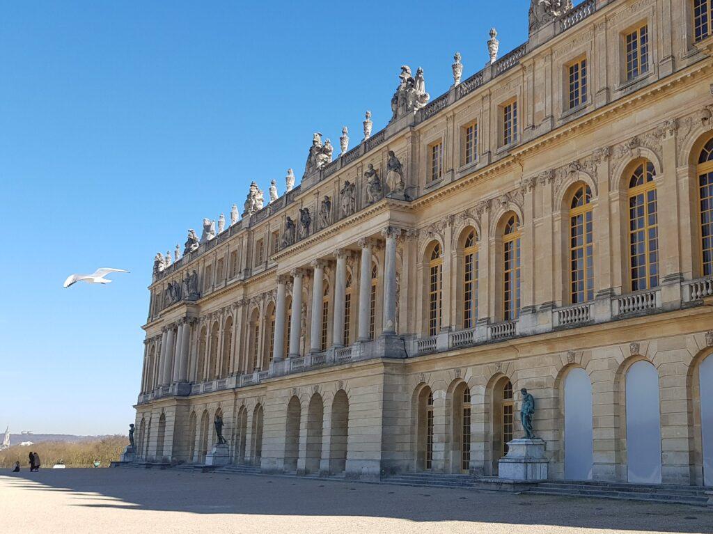 Reggia di Versailles la vista che affaccia sui giardini