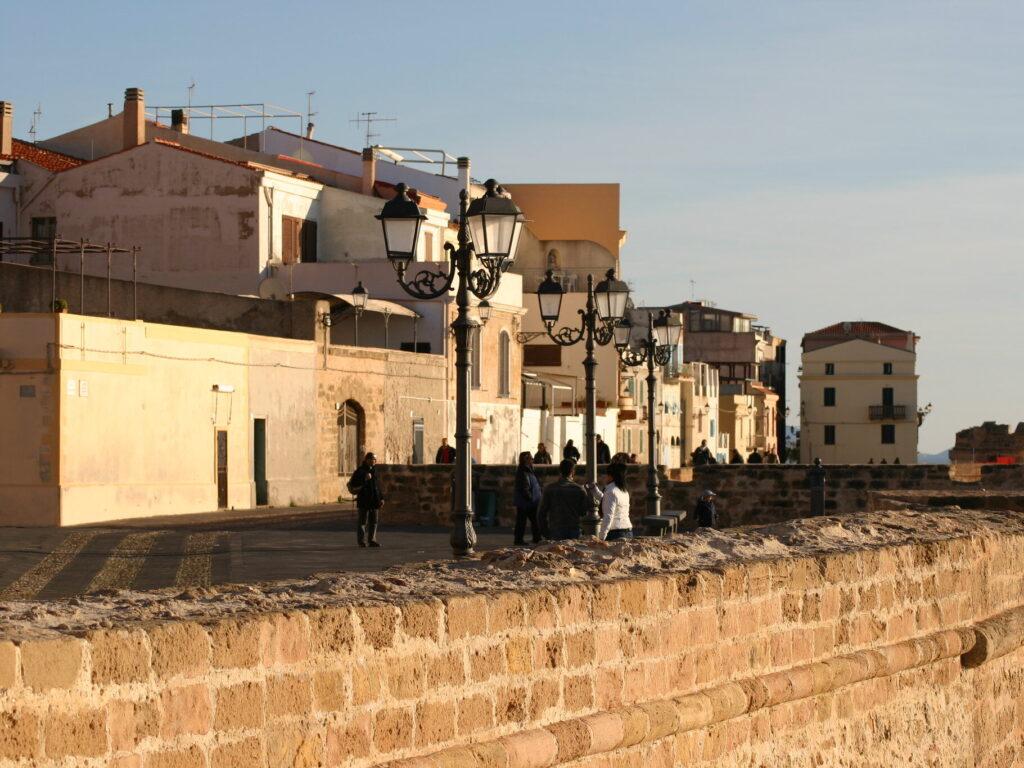 Le mura di Alghero