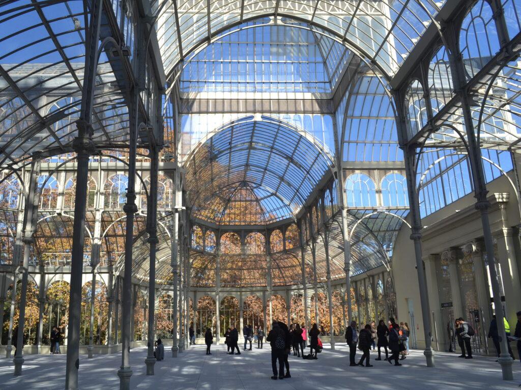 Il Palazzo di Vetro del Parco El RItiro